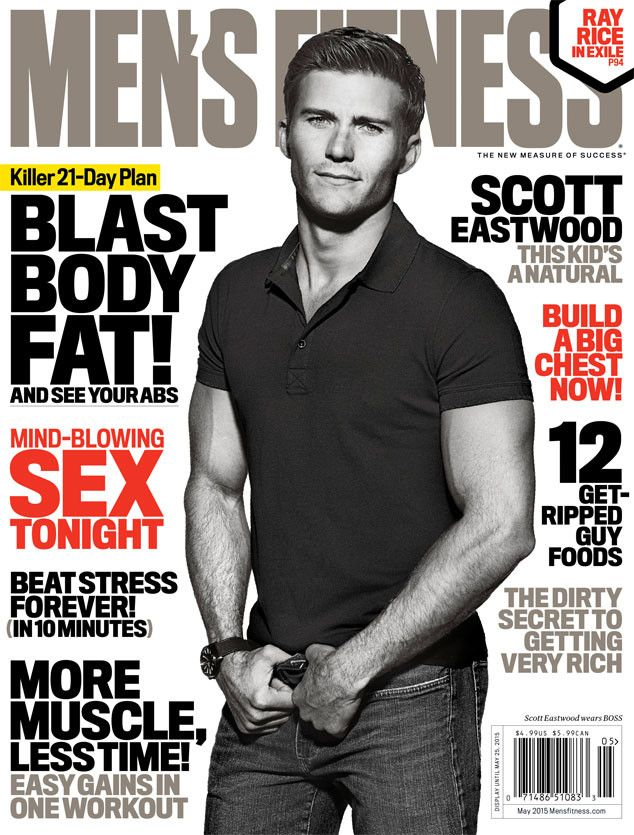 Look at Scott Eastwood on the cover of Men's Fitness, and try not to drool!