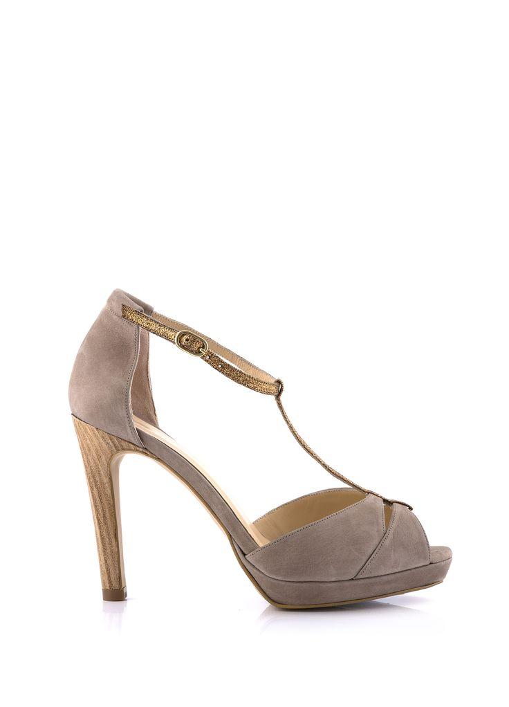 Sandale à Talon SELKIE Taupe - Sandales à talons - FEMME NOUVELLE CO' - FEMME