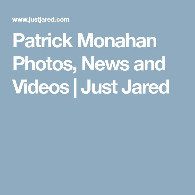 Patrick Monahan Photos, News and Videos | Just Jared