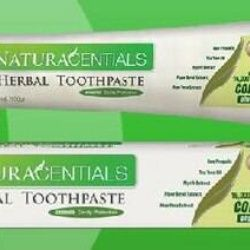 NATURACENTIALS Herbal Toothpaste Manufactured By Natures Way Price AU$12.00