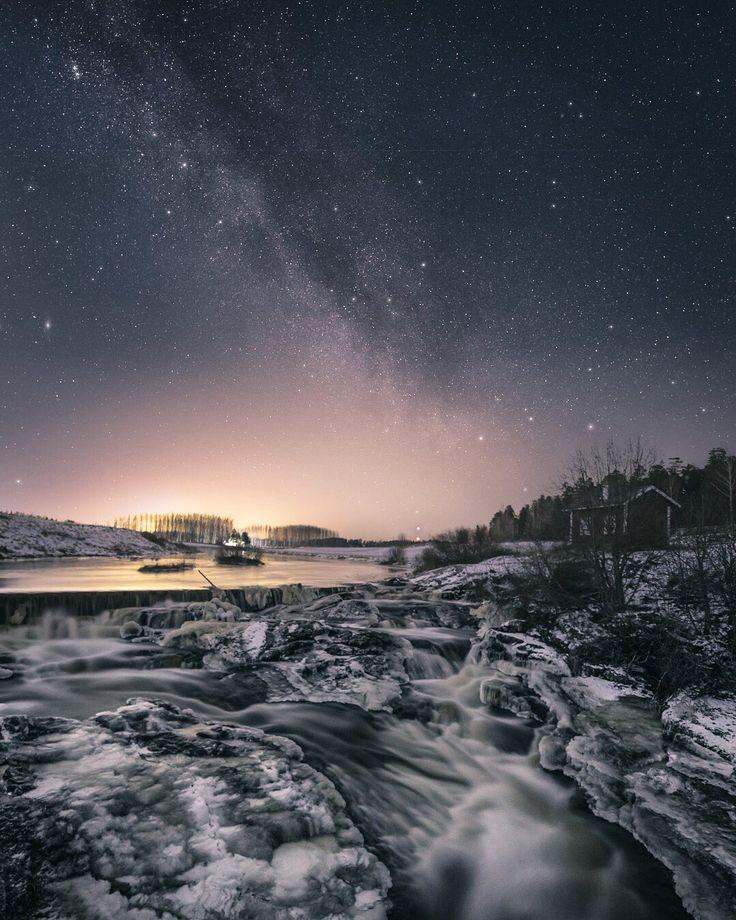 Rapids at night 💦✨ #nautelankoski #lieto - Timo Oksanen (@timoksanen) | Twitter