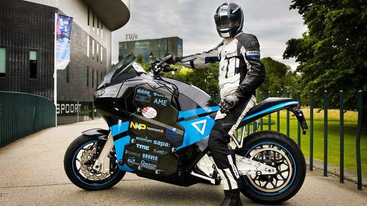 Van Eijk Transmissie en Smesh werkten mee aan de ontwikkeling van de elektrische motor STORM van de Technische Universiteit Eindhoven.