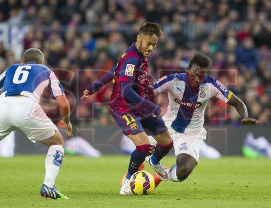 Neymar Jr. conduciendo el balón | Barça, 5 - Espanyol, 1