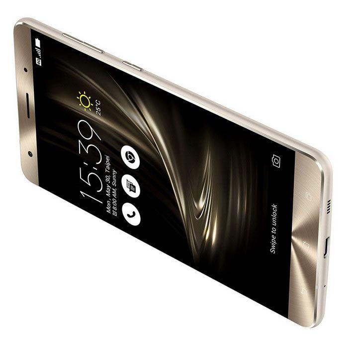 ASUS Zenfone 3 Deluxe ZS570KL Phone 6GB RAM, 64GB ROM, Dual SIM - Gold