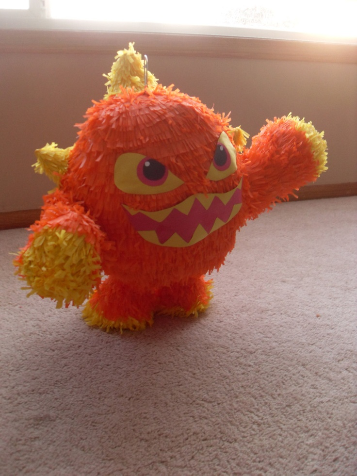 Skylanders Giants Eruptor Pinata by pinatafun04 on Etsy, $34.99