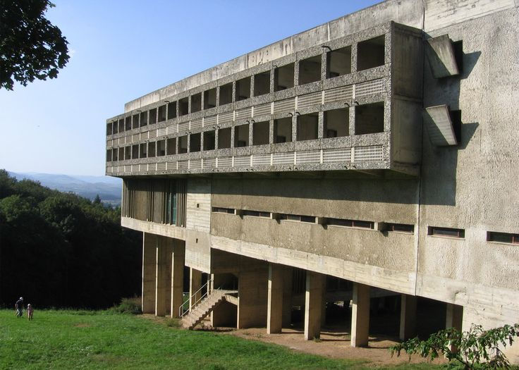 Le Corbusier's La Tourette monastery is among his most iconic buildings on the World Heritage List