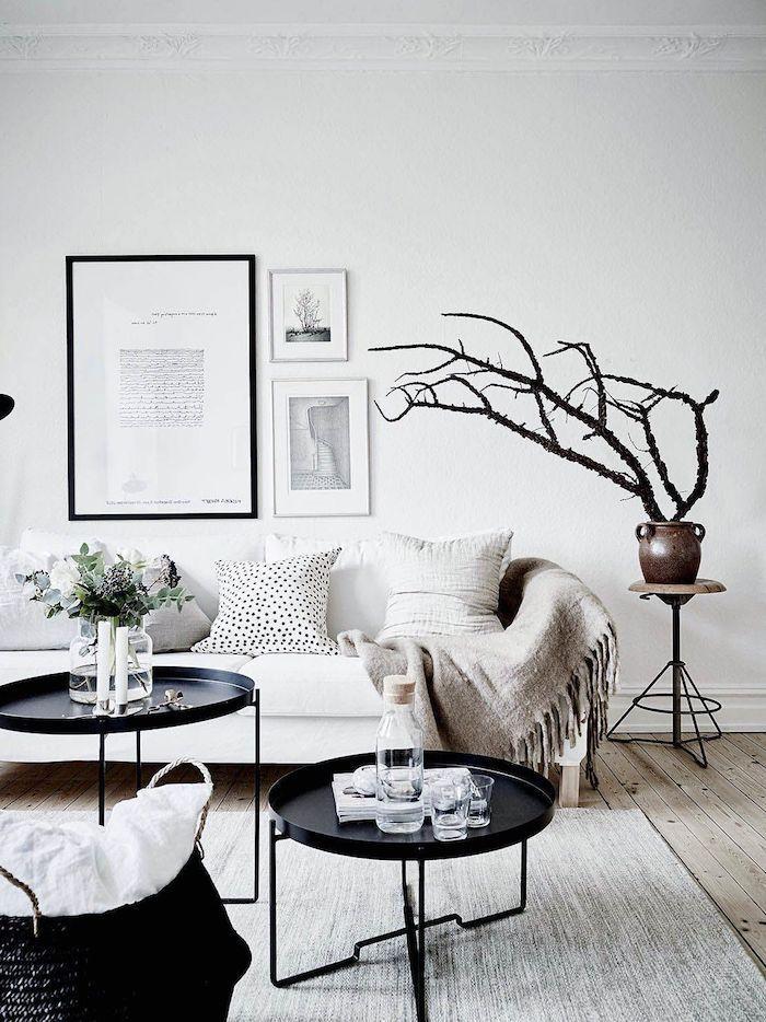 1001 Ideen Fur Modernes Scandi Style Wohnzimmer Haus Deko Wohnung Badezimmer Dekoration Haus Umbau