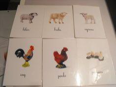 cartes animaux Montessori à télécharger (nomenclatures)