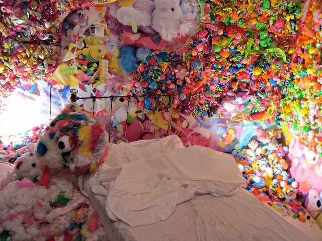 "Sebastian Masuda, ""Colorful Rebellion""; Kianga Ellis Projects presents the first solo exhibition in the United States for Sebastian Masuda, Japan's preeminent ambassador for the cultural phenomenon of Harajuku kawaii. Colorful Rebellion"