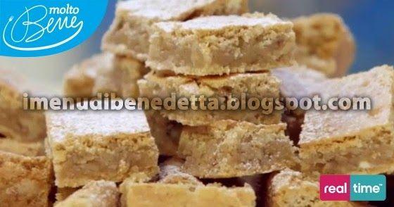 Blondies | la ricetta di Benedetta Parodi