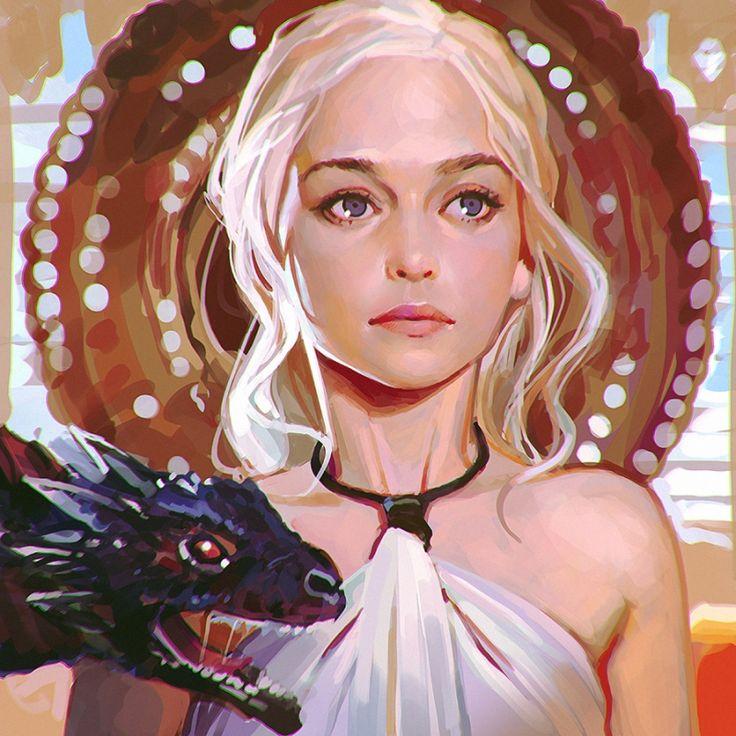 Ilya Kuvshinov - Daenerys // Costume ideas <3_<3