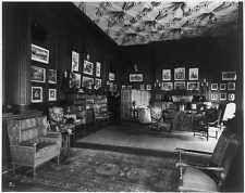 Oak Drawing Room,Biltmore House,Vanderbilt estate,Asheville,Buncombe Co.,NC,1930
