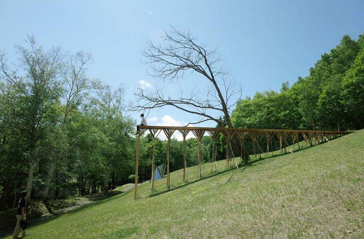 Precarious Playgrounds | Ryo Yamada's Air Garden