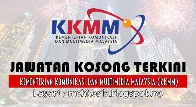 Jawatan Kosong di Kementerian Komunikasi dan Multimedia Malaysia (KKMM) - 14 Aug 2016   Permohonan-permohonan adalah dipelawa daripada Warganegara Malaysia untuk memenuhi jawatan seperti berikut:-  Jawatan Kosong Terkini 2016 diKementerian Komunikasi dan Multimedia Malaysia (KKMM)  Jawatan:  1. JURUFOTOGRAFI B19  9 Kekosongan  Kelayakkan Lantikan:  (i) mempunyai bakat kebolehan dan daya kreativiti dalam bidang fotografi dan/atau kamera filem serta berkebolehan bertutur membaca dan menulis…