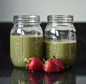 Cherry-Coconut And Kale Smoothie Recipe — Dishmaps