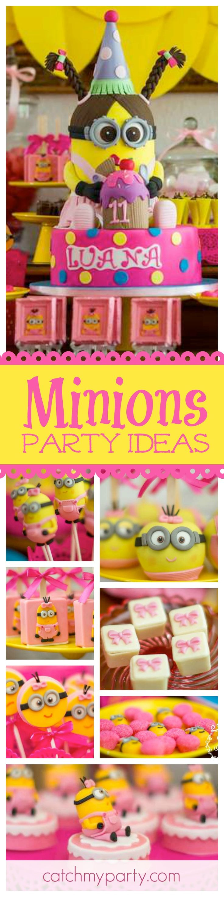 Beau Check Out This Awesome Minions Girl Birthday Party. How Cool Is The The  Lady Minion