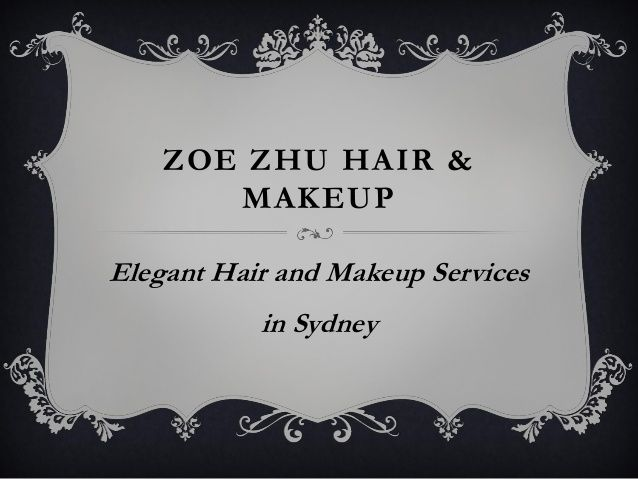 Elegant #Hair and #Makeup Services in #Sydney