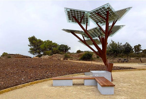 Restyle albero, pannelli fotovoltaici