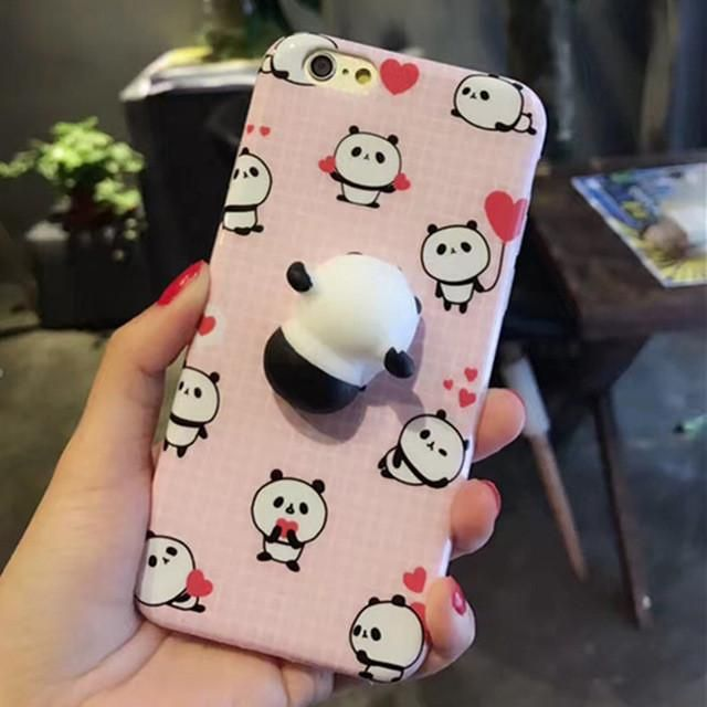 Squishy Sleeping Panda Iphone Case