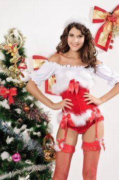Kerst kostuum ( rood vest kostuums )