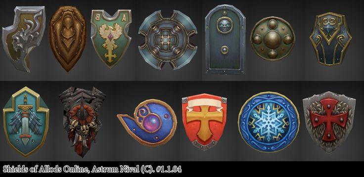 Shields - Allods by janesthlm.deviantart.com on @deviantART