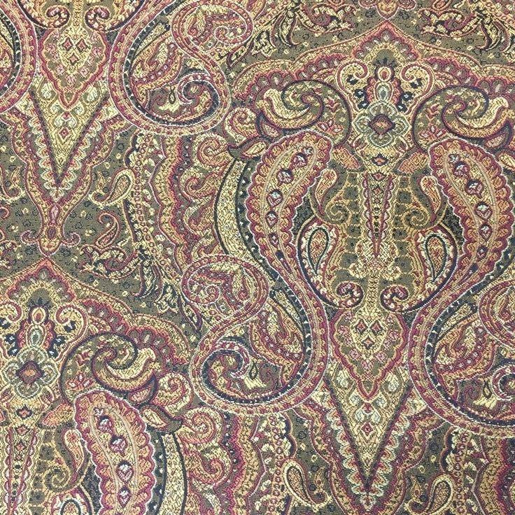 ценители орнаментов пейсли оценят по достоинству #жаккард R-PASHMINA, коллекция BALENCIAGA #Galleria_Arben #decoration #шторы #ткань #fabric