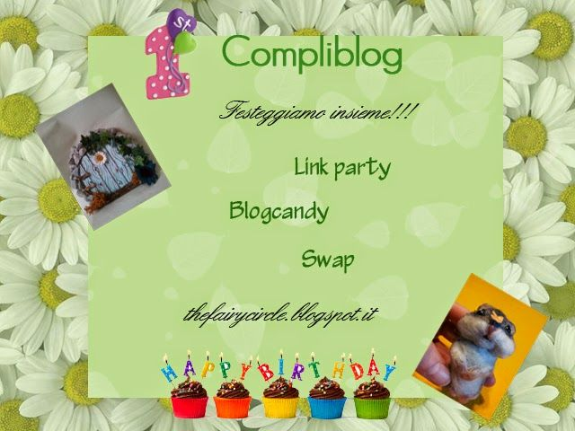 The Fairy Circle - My ooak : 1° compliblog : Linkparty + blogcandy + swap!! :)
