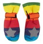 #Molo - Multi-colour Rainbow #Mittens  £24