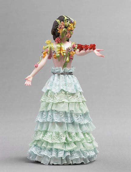 Shary Boyle Porcelain.. ideally this is what my knicknacks would look like.