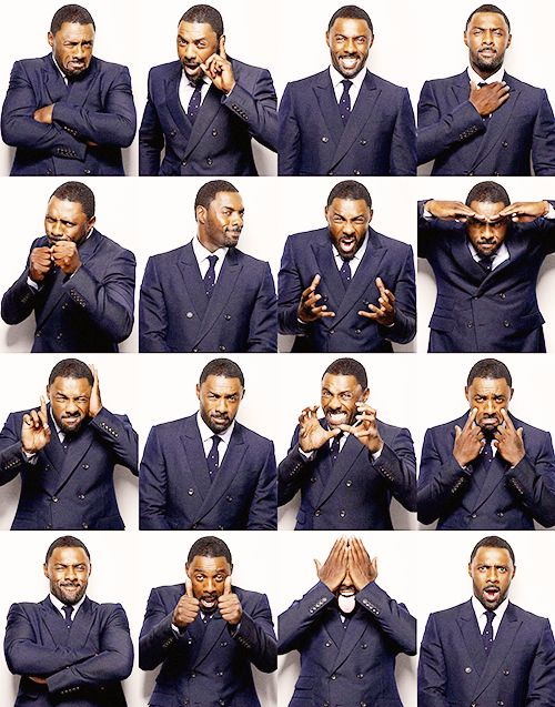 Idris Elba-What a beautiful man