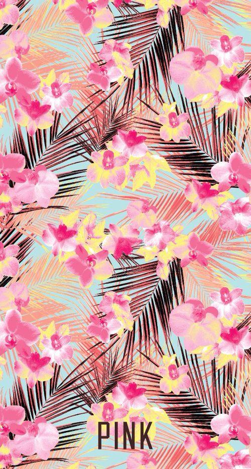 Imagem de pink, wallpaper, and flowers