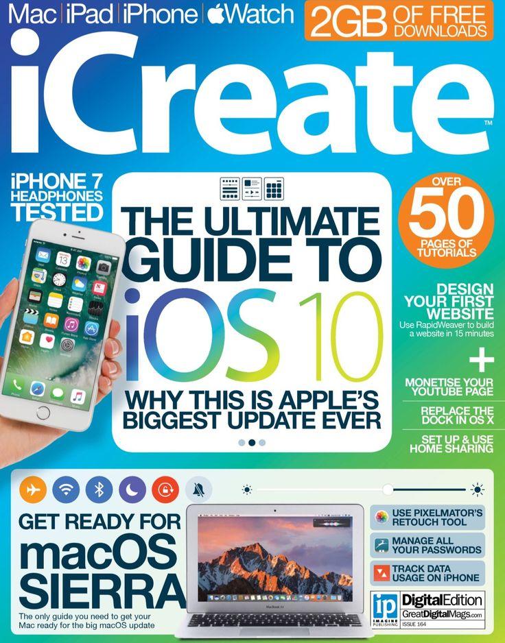#iCreate magazine