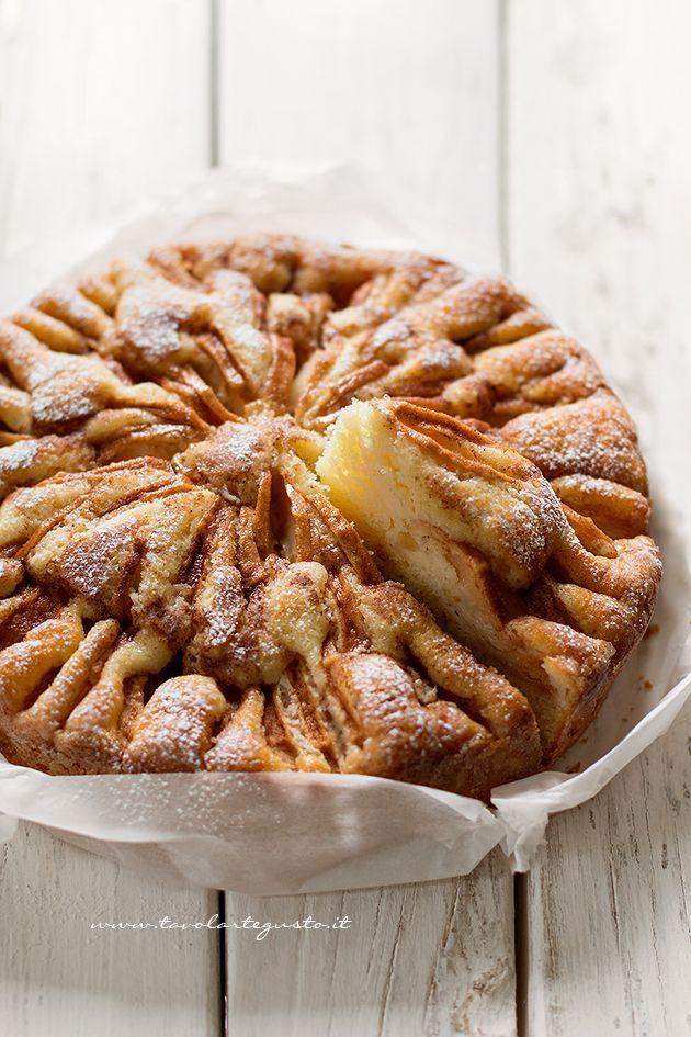 Torta soffice alle mele - Ricetta Torta di mele
