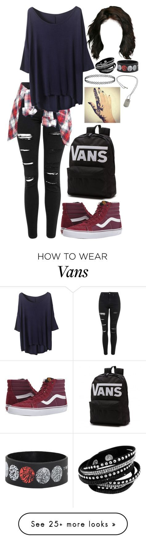 """""""Vans"""" by mati1d on Polyvore featuring Topshop, ASOS, Vans and Tiffany & Co."""