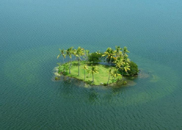 Poll Islet, Australia 100 km North East of Thursday Island, Queensland, Australia in the Vigilant Channel Torres Strait.
