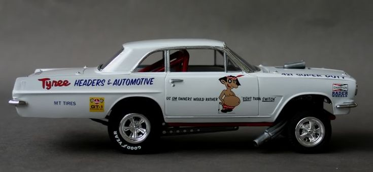 photos of jess tyree funny cars   Jess Tyree's Tempest – Models