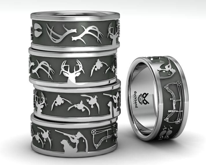 Hunter Wedding Rings at Exclusive Wedding Decoration and Wedding