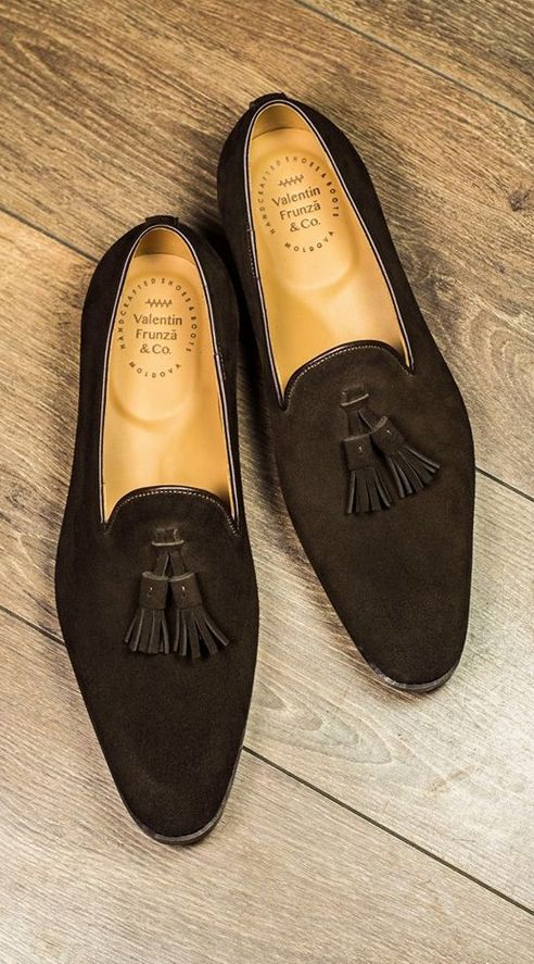 Suede Tassel Loafers Collection