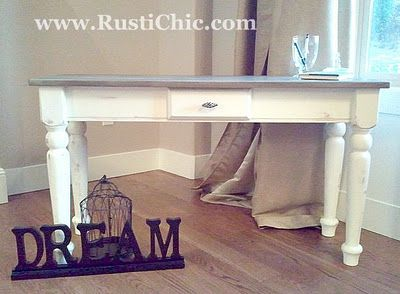 annie sloan chalk paint/beautiful redo