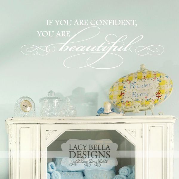 If You Are Confident You Are Beautiful wwwlacybella