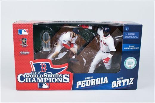 David Ortiz/Dustin Pedroia (Boston Red Sox) World Series Champions 2-Pack McFarlane