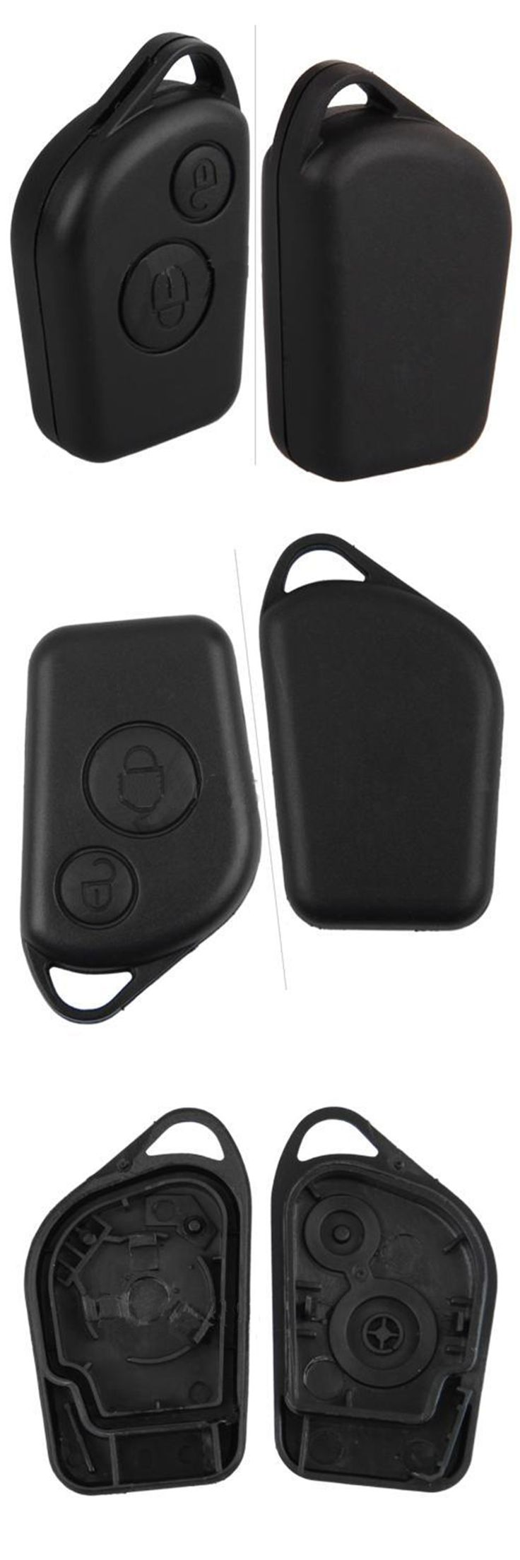 Dewtreetali 2017 new Replacement Remote Key Case Fob Shell For Citroen Xsara Picasso Berlingo free shipping