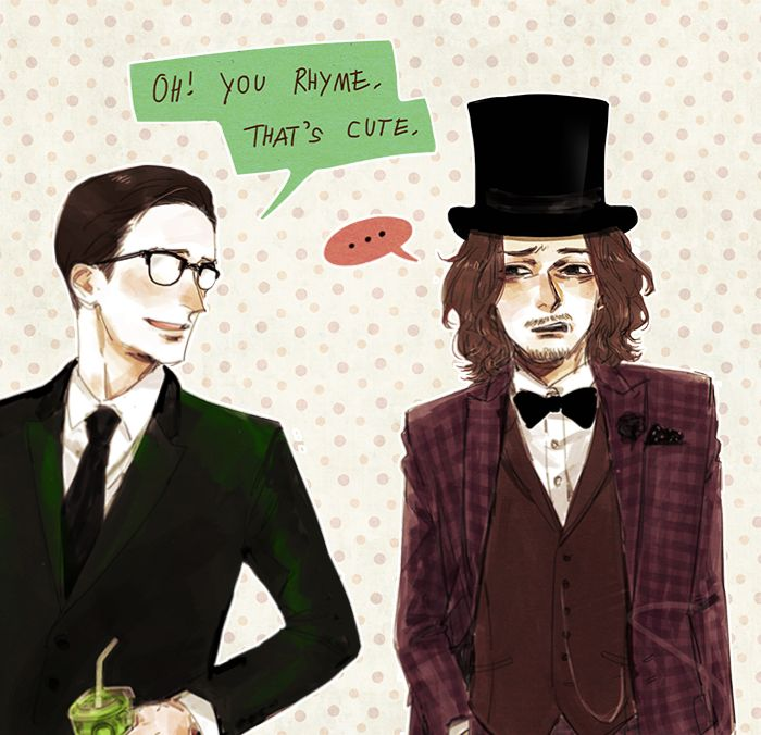 The Riddler & The Mad Hatter