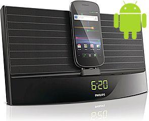 En klockradio med Androidkoppling =)