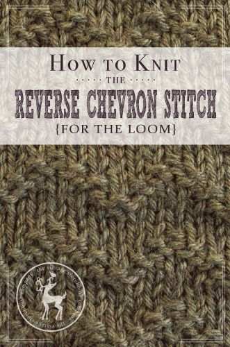 Today is Day 26 of our 31 Days of Knitting Challenge for the Loom. Todays stitch is called the Reverse Chevron Stitch, and like yesterdays stitch, it...