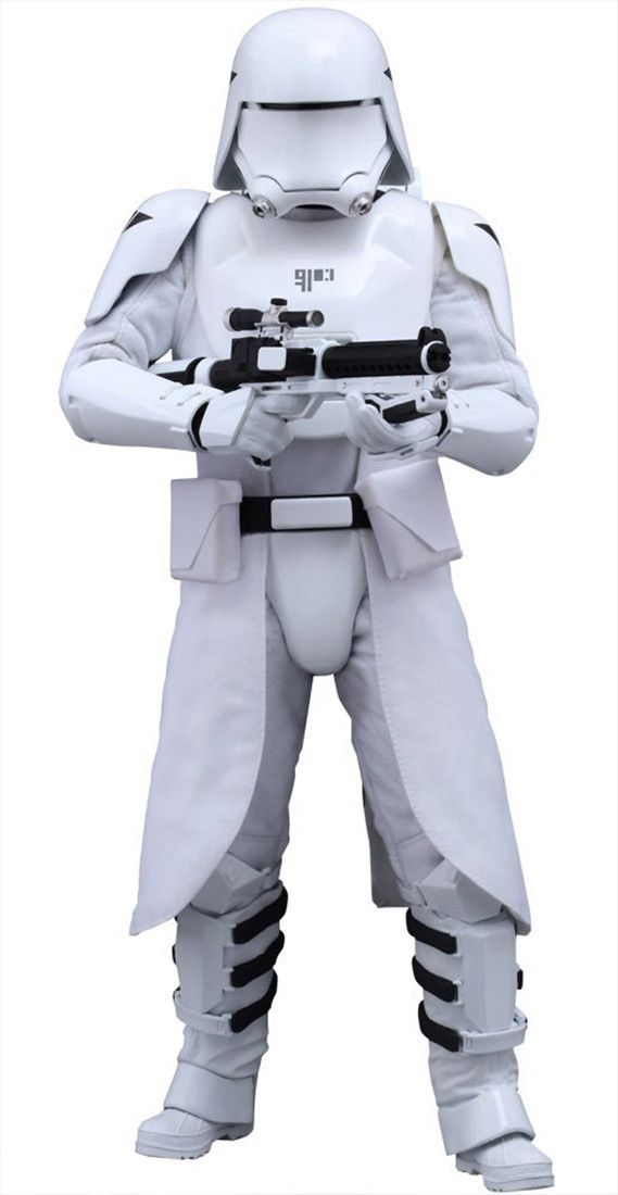 Star Wars Hot Toys 1:6 Collectible Figure First Order Snowtrooper