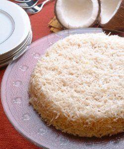 bolo de coco gelado diet
