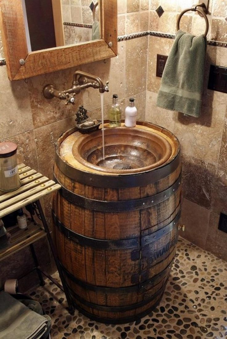 15 Simple Gorgeous Diy Rustic Bathroom Decor Ideas On A Budget Bathroom Bathroomdecor Bat Western Bathroom Decor Rustic Bathrooms Rustic Bathroom Designs