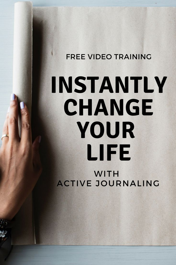 MASTER your MINDSET and RISE to your best life and business with this FREE video training about active journaling.  PIN to any business or mindset related board and share with your fellow entrepreneur
