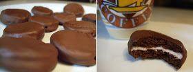 Eva's Smulhuisje: Chocolade-muntkoekjes